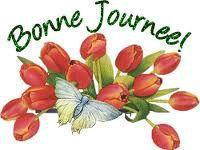 Bonne journée tulipes