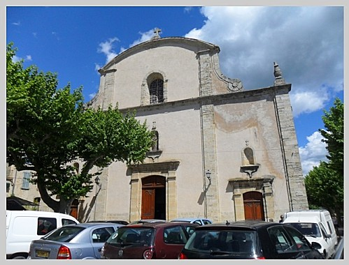 Fayence église extérieur