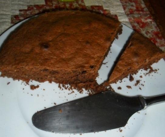 Gâteau chocolat:noix de coco