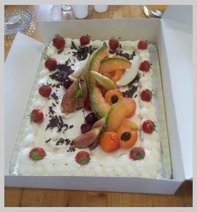 Gâteau anniversaire MF