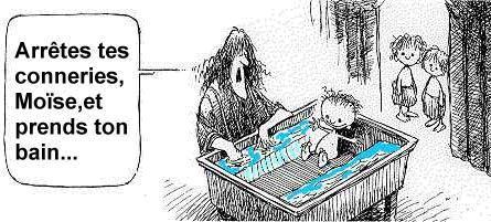 Humour Moïse