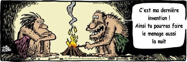 Humour Le feu