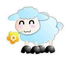Mouton bleu gif