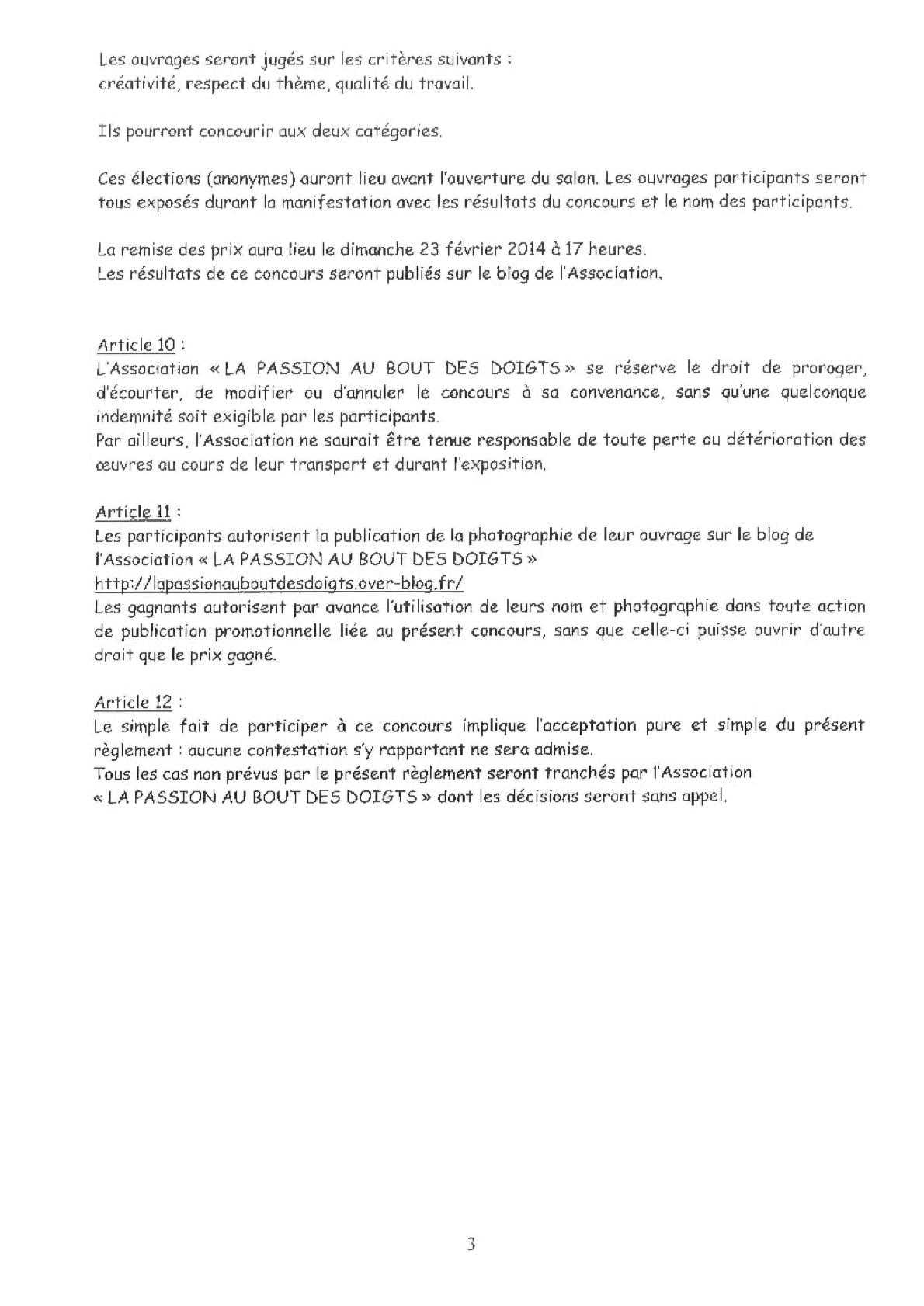 Règlement concours 2014-3