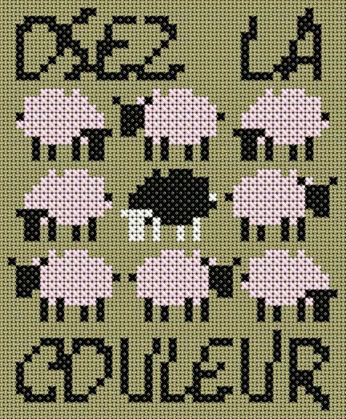 Grilles gratuites mouton et autres la passion au bout - Blog point de croix grilles gratuites ...