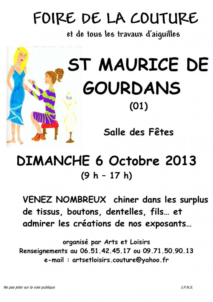 Affiche Gourdan