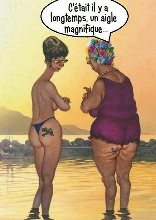Humour tatouage