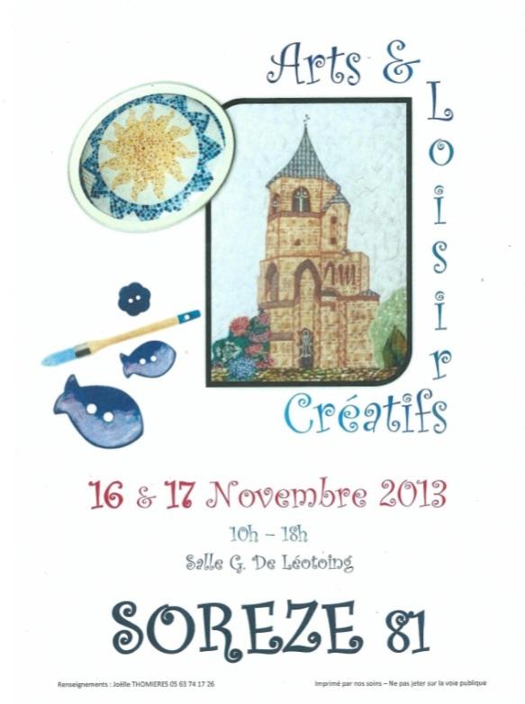 Affiche Sorèze 2013