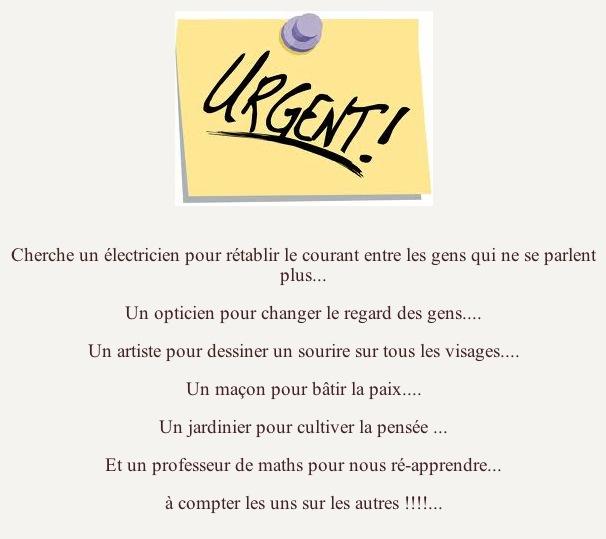 Urgent (humour)
