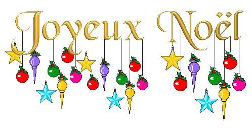 Joyeux Noël avec boulles