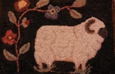 Mouton brodé gif