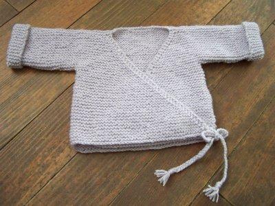 modèle tricot gilet facile