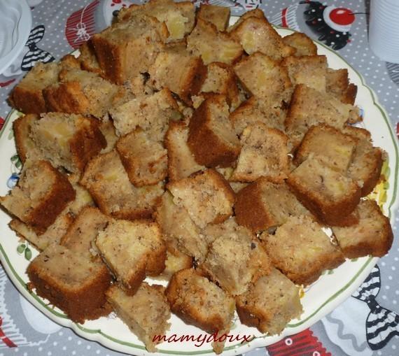 Cake pomme-noisettes-Mamydoux