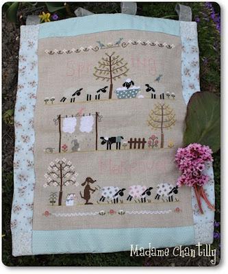 Madame Chantilly moutons