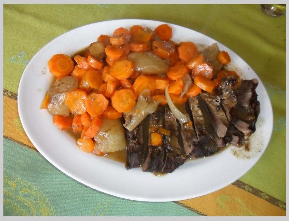 Cœur de veau:carottes