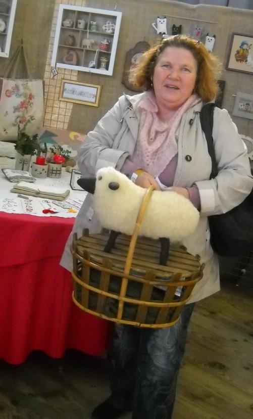 La visiteuse au mouton