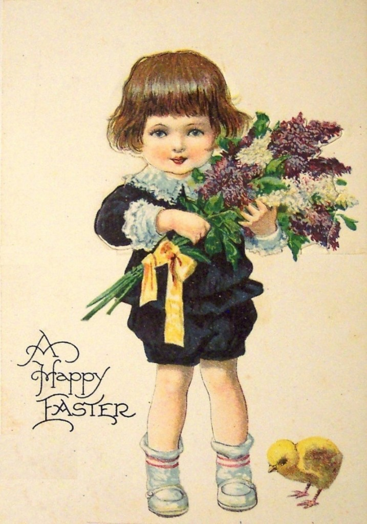 Happy Easter enfant