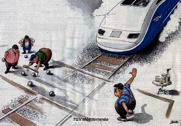 Humour TGV Méditérannée