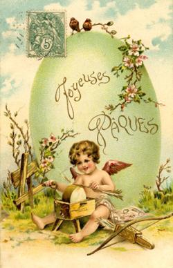 Joyeuses-Pâques à l'ange