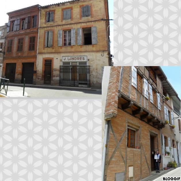 Villemur vieilles maisons