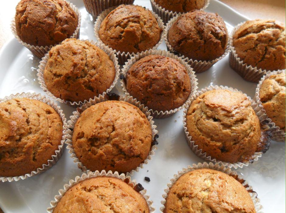 Muffins à la pralinoise