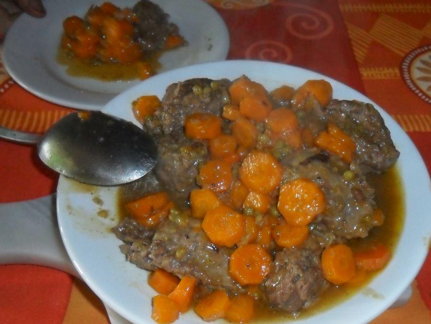 braisé aux carottes a la cocotte minute