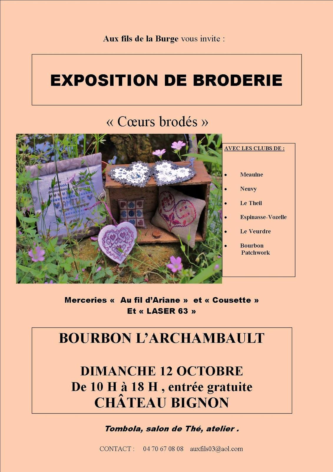 Affiche expo 2014 Bourbon