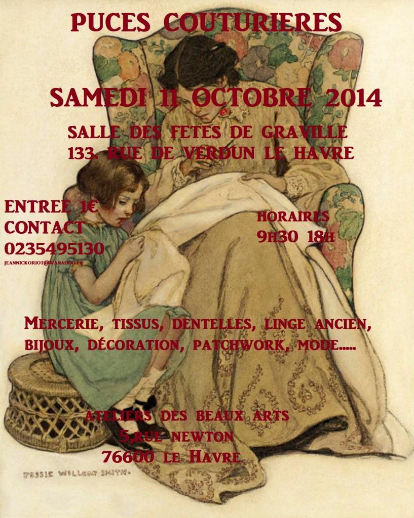 affiche 11 octobre 2014 puces