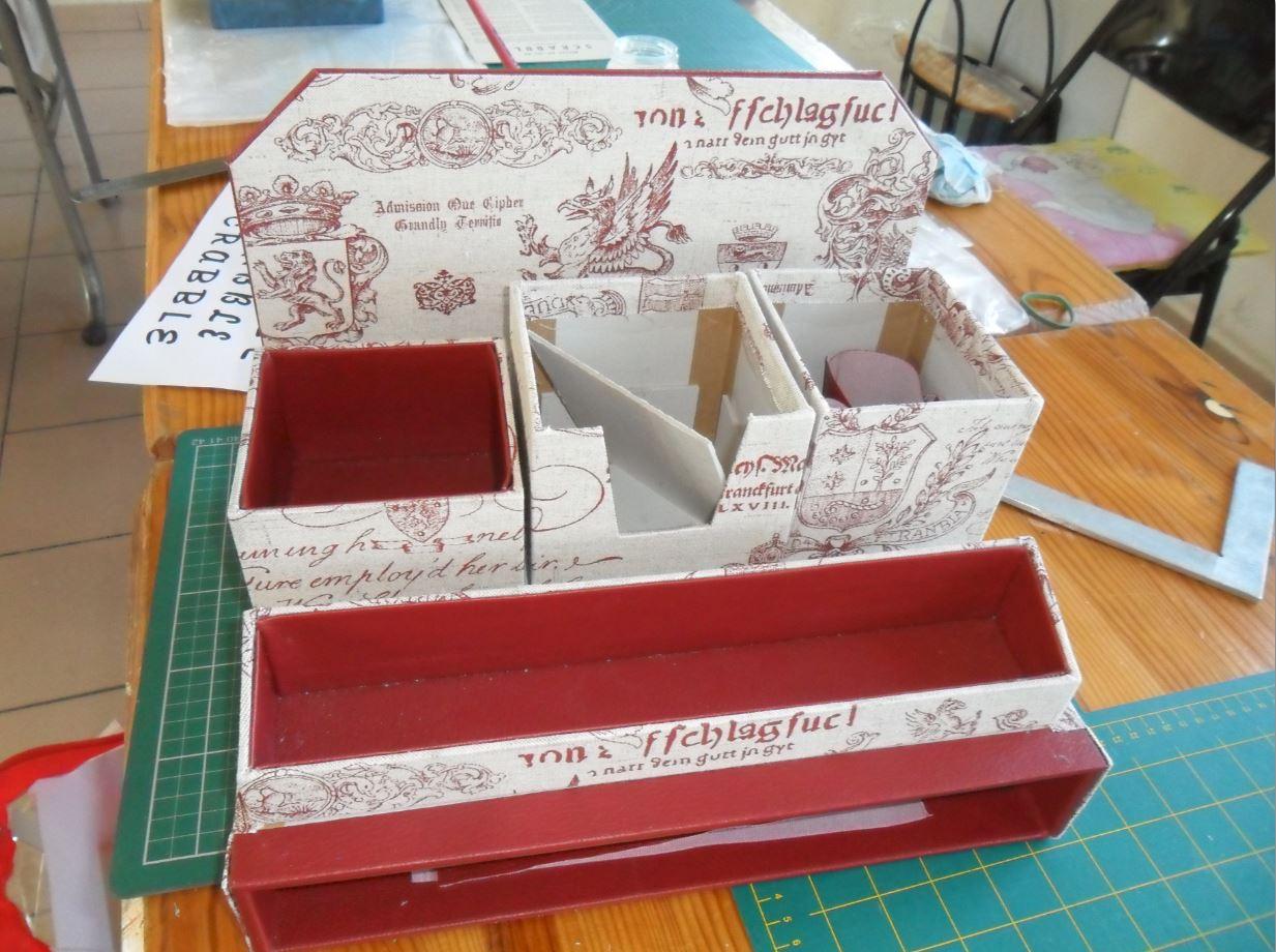 du cartonnage avec marie fran oise la passion au bout des doigts le nouveau blog. Black Bedroom Furniture Sets. Home Design Ideas