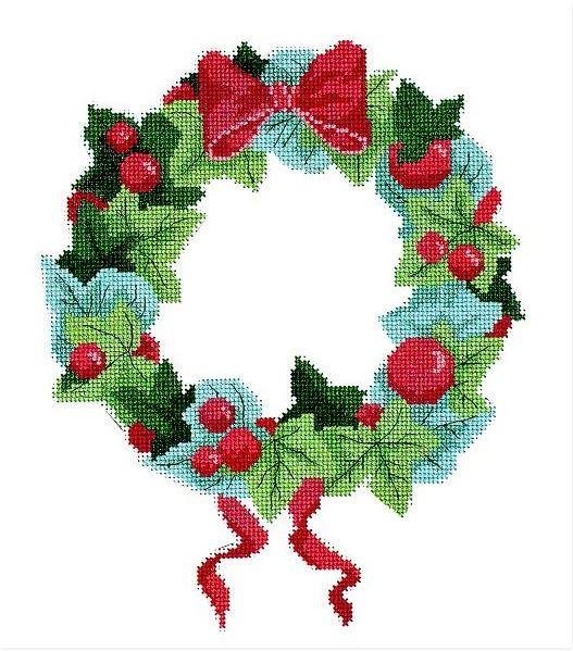 Couronne Noël DMC