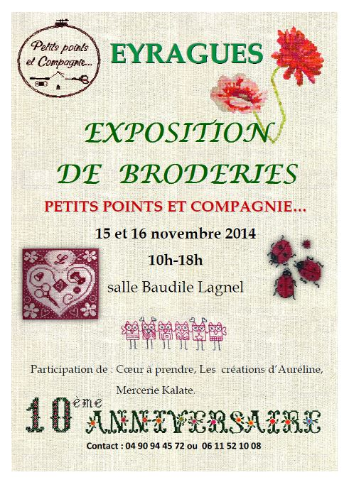 Affiche Eyragues expo
