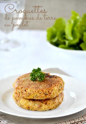 Croquettes pomme de terre poulet