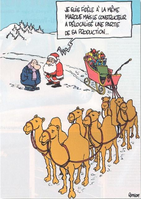 Humour dessin Père Noël