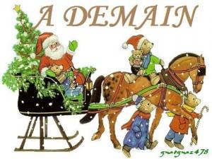 A demain Noël gif