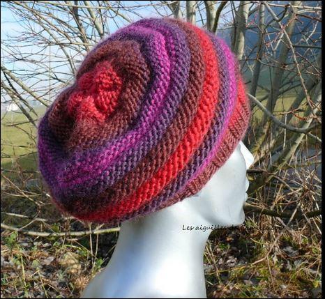 Bonnet en couleur
