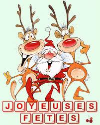 Joyeuses fêtes Père Noël gif