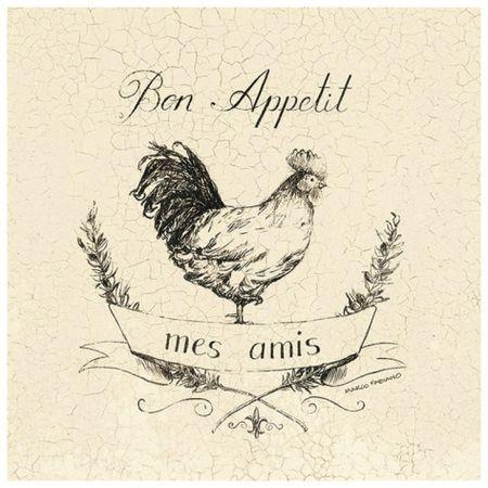Bon appétit coq gif