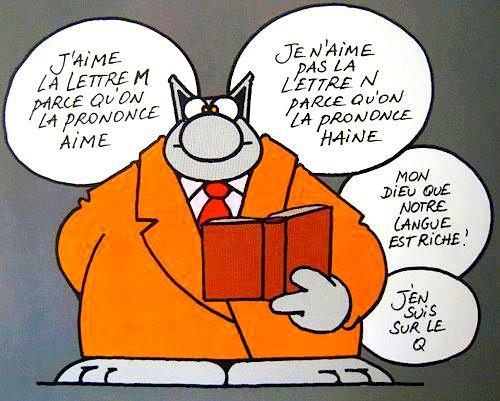 Le français par le Chat