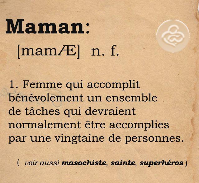 Maman définition
