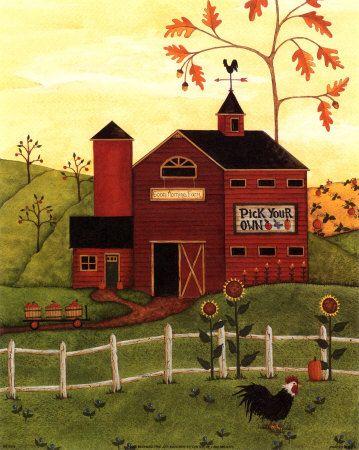 La grange rouge gif