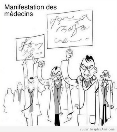 Manif médecins