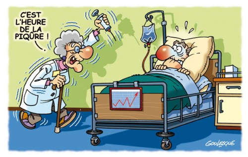 A l'hôpital gif