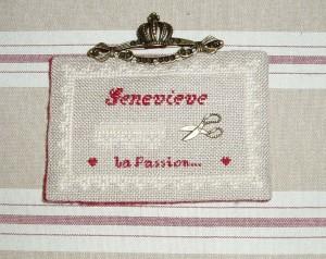 Broche Geneviève