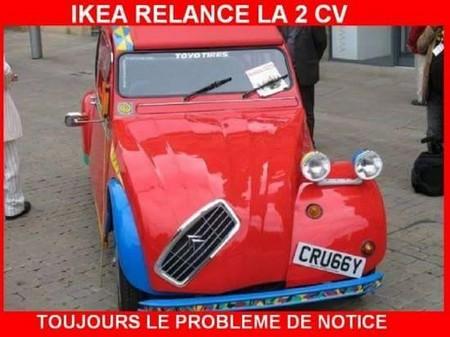 2CV Ikéa humour
