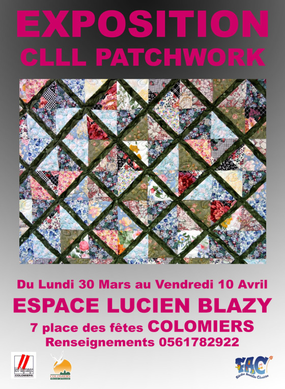 Affiche expo-patch Colomiers