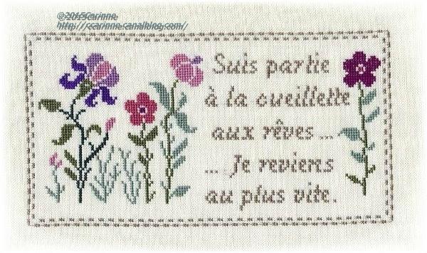 Grille fleurs