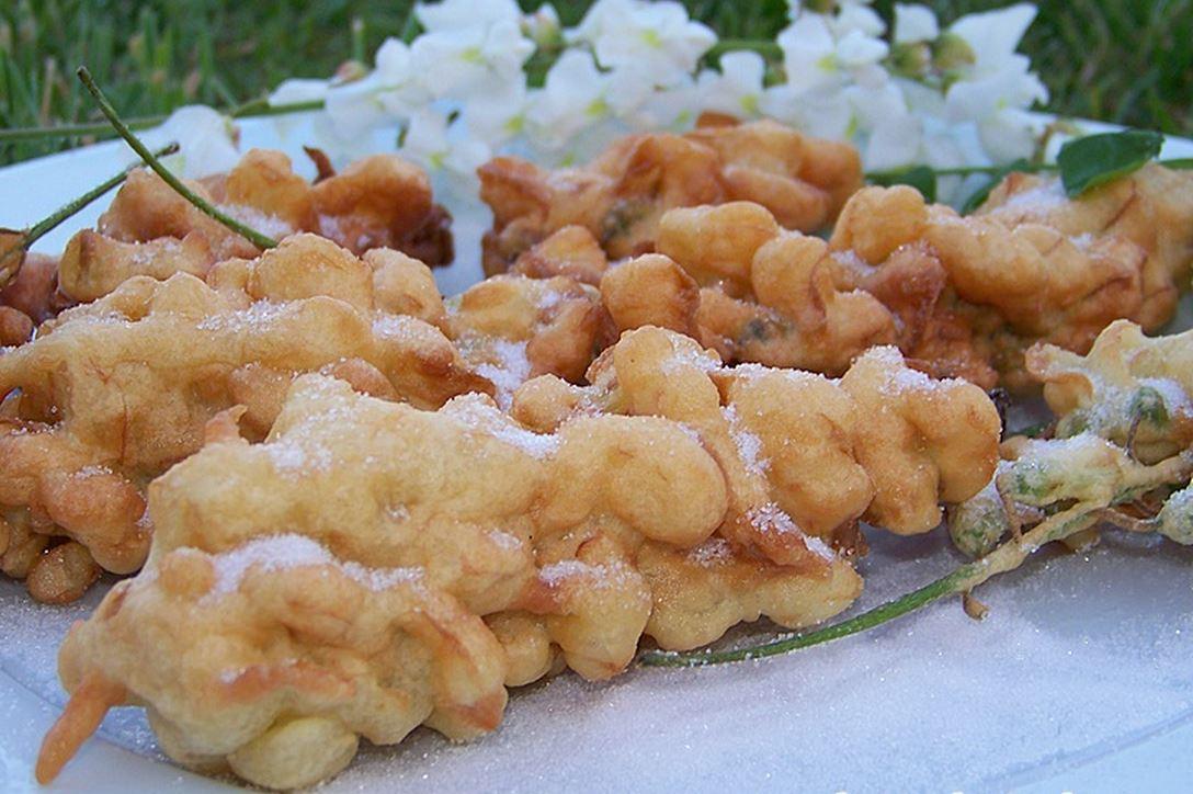 Beignets fleurs d'acacia