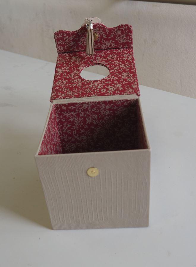 Cartonnage Geneviève 2