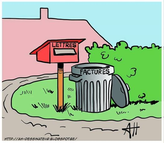 Humour courrier