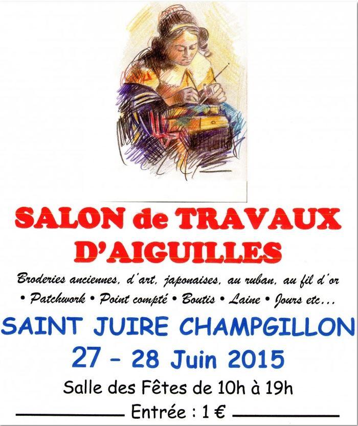 Affiche St Juire Champgillon